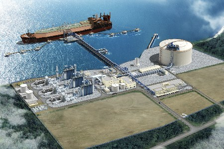 BAM and ICONSA to construct jetty for Costa Norte LNG Terminal