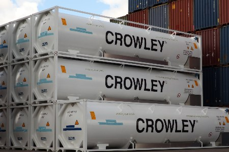Crowley acquires additional ISO tanks