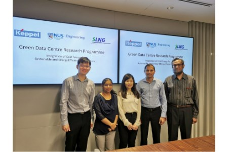 NUS, Keppel and SLNG developing energy-efficient cooling technology for data centres