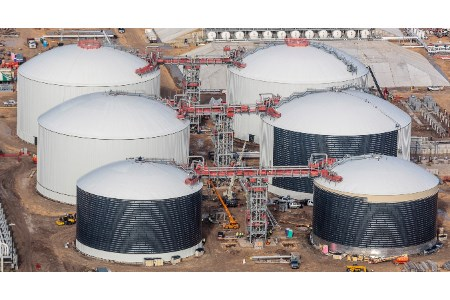 Tarsco completes construction of LPG tanks for Texas client